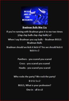 Bulls Warcry