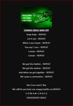 Crocs Warcry