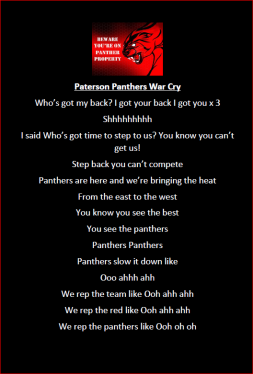Panthers Warcry